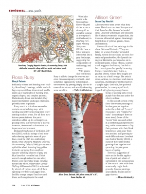 """ARTnews Review of """"Deeply Rooted"""""""